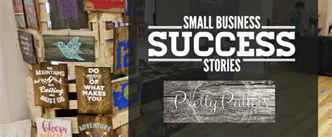Small Home Business Success Stories Small Business Success Story Pretty Pallets Signs