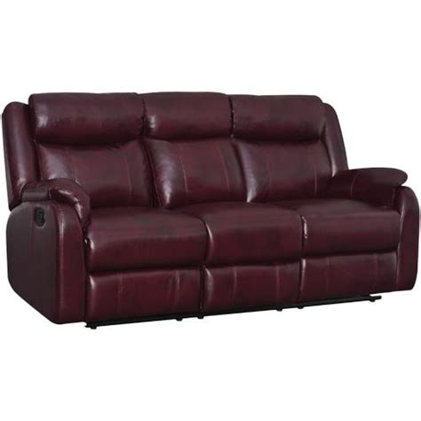 global furniture grs9303bur tuscany reclining burgundy