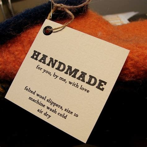 Handmade By Tags - 1000 ideas about gift card displays on