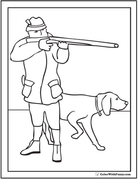 coloring pages of hunting dogs 80 hunting coloring pages top 10 free printable