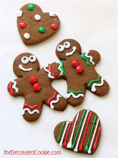 Decorated Gingerbread by Bff Gingerbread Cookies For