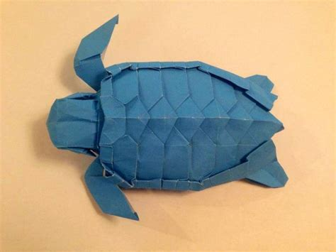 Origami Turtle - 3d origami turtle pictures to pin on pinsdaddy