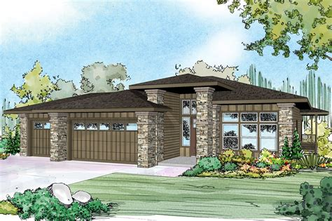 house plans prairie style prairie style house plans hood river 30 947 associated designs