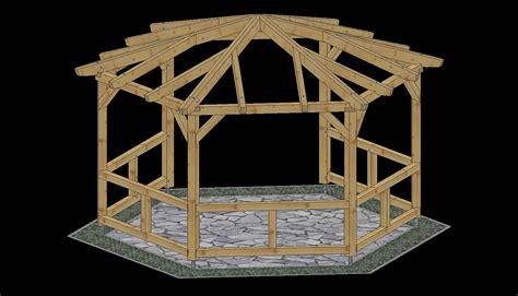Gartenpavillon Aus Holz Selber Bauen 11 by Pavillon Bauen Swalif