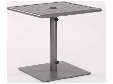 Linear Tables by Koverton Linear Extruded Aluminum Steel 32 Square
