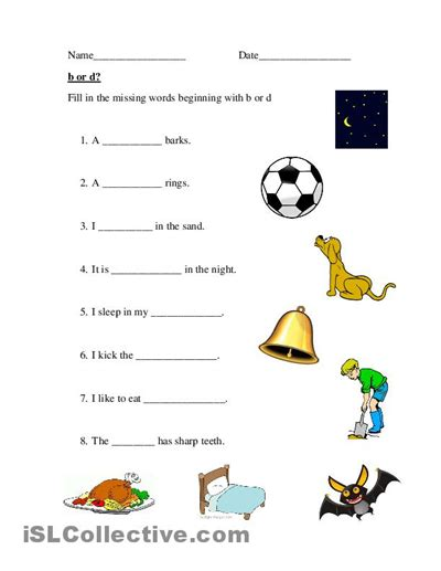 B And D Worksheets by B And D Worksheet Free Worksheets Library And