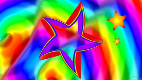 colorful wallpaper with stars colorful stars wallpaper barbaras hd wallpapers