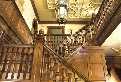 dark gothic staircase designs gothic period home traditional staircase new york
