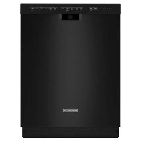 Kitchenaid Dishwasher Not Completing Cycle Kitchenaid Front Dishwasher In Black With
