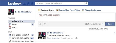 membuat status facebook menarik membuat status facebook terbalik kereen grow with me