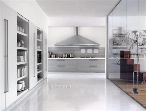 Italian Kitchen Silver by Modular Kitchens From Schiffini Bring Italian Elegance