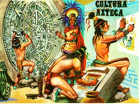 imagenes de los aztecas animadas cultura azteca timeline timetoast timelines