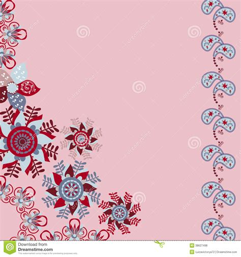 Greeting Card Background Templates by Floral Vector Invitation Or Greeting Card Royalty Free