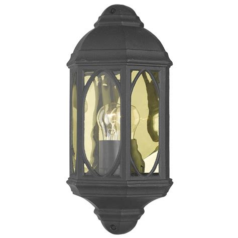 black outdoor wall lantern outdoor half wall lantern black lightbox