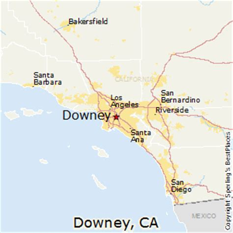 best places to live in downey california