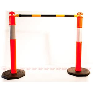 bollards and tiger tail | traffic control products