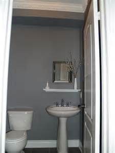 Grey Powder Room 10 Rooms How I Reno D The Powder Room Without Renovating