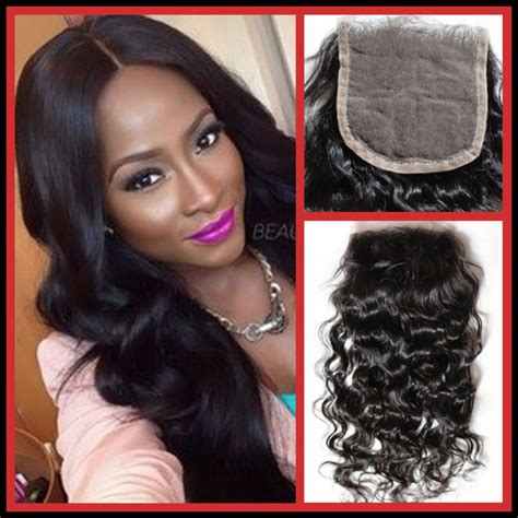 wiki closure hair extension 10 quot 20 quot inch top lace closure brazilian virgin human hair