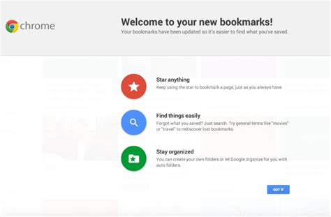 chrome bookmark google launches new bookmarks interface for chrome ubergizmo