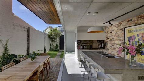 Small House Plans With Inner Courtyard by Long Courtyard House Desire To Inspire Desiretoinspire Net