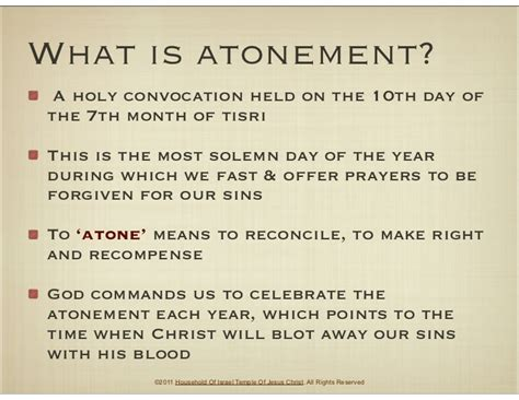 what is day the day of atonement