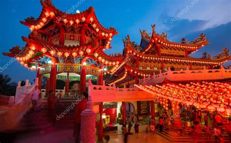 visiting kl during new year thean hou temple in kuala lumpur at during