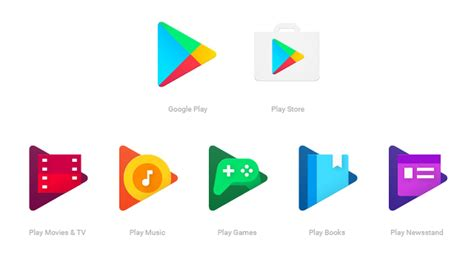 google office playroom google play app icons are getting the candy colored flat