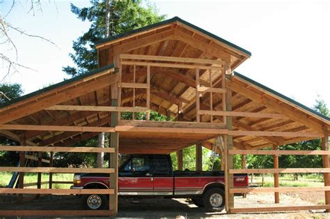 pole barn with loft plans 1000 images about for the farm on pinterest