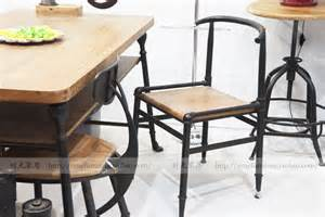 Industrial Style Dining Chairs American Loft Retro Industrial Style Furniture Dining Chairs Personality Cafe Bar