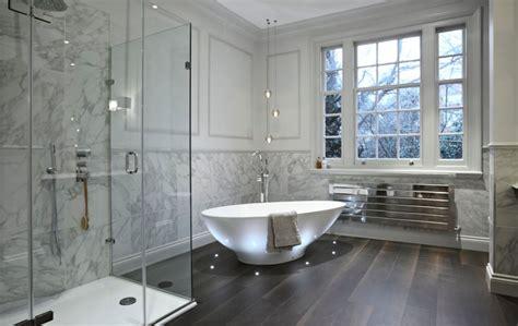 Luxury Master Bathroom Designs by Fresh Designs Built Around A Corner Bathtub