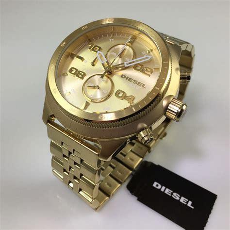Diesel Sillver s diesel padlock chronograph gold tone dz4441