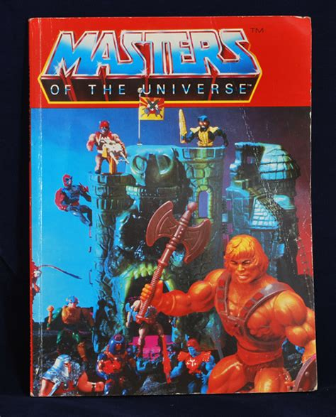 masters of books masters of the universe 1984 annual