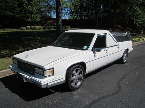 Cadillac Car For Sale by 1987 Cadillac Flower Car Hearse For Sale