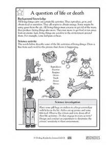 3rd grade 4th grade science worksheets a question of