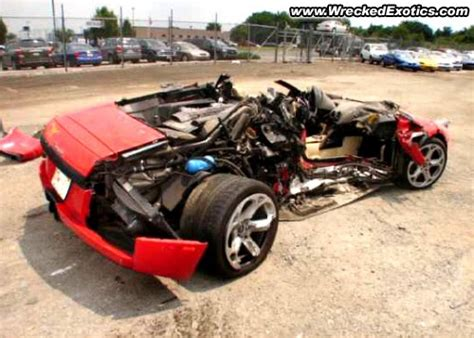 Wrecked Lamborghini by Auto Collision Repair Car Paint In Fremont Hayward