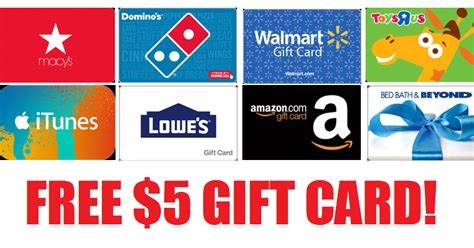 Kmart Sears Gift Card Balance - coupons and freebies free 5 gift card to any store amazon walmart home depot