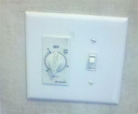 bathroom fan control switch installing a bathroom fan timer building moxie