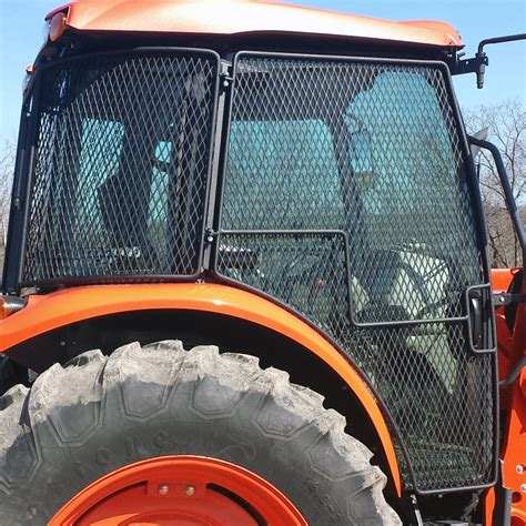 tractor cab upholstery kits protective cage door kits for kubota deluxe utility m
