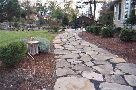 Creek Rock Patio by Trout Creek From Portland Rock For A 200 Sq Ft