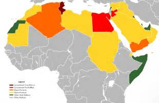 Arab World Map by File Arab World Protests Map As Of 2 17 11 Png Wikimedia