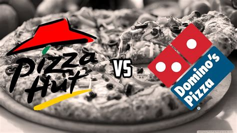 domino pizza vs phd wacky wednesday pizza hut vs dominos youtube