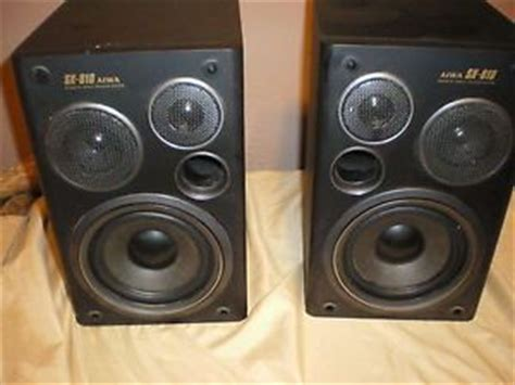aiwa bookshelf speakers system on popscreen