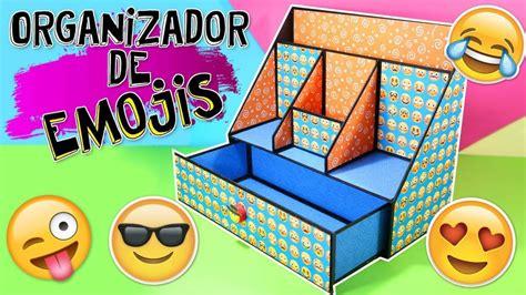 decorar fotos con emojis organizador de escritorio de cart 243 n decorado con emojis