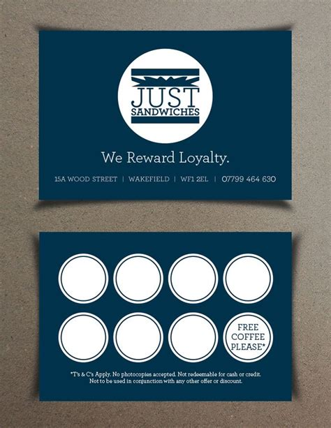 25 best loyalty card design ideas on pinterest