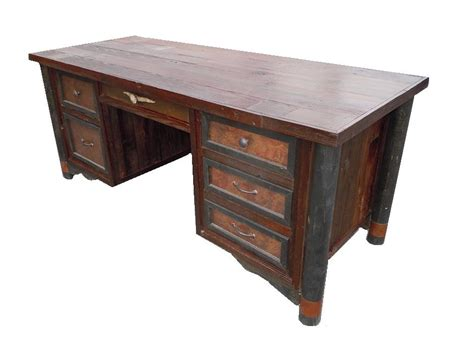 Bradley S Furniture Etc Utah Rustic Office And Student Rustic Office Desks