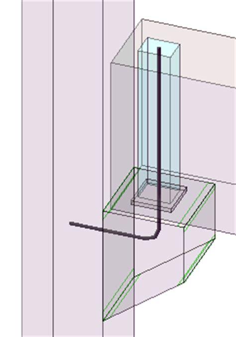 Column Corbel Corbel Connection 14 Tekla User Assistance