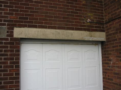 Garage Door Lintel Replace Garage Door Lintel Bricklaying Job In Preston