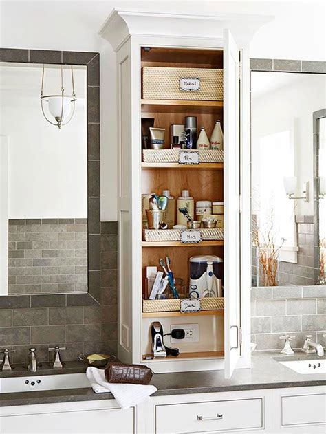 25 best ideas about bathroom counter storage on