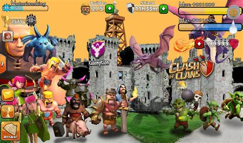 wallpaper animasi clash of clans clash of clans wallpaper heroes units city wallpaper