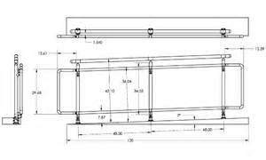 handrail height ada handicap railing stainless steel handrails